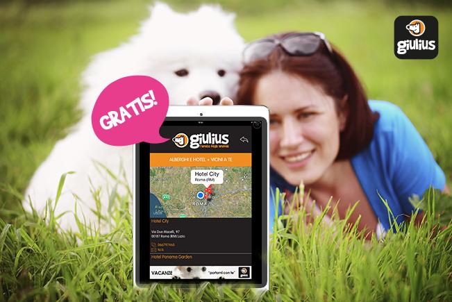 Giulius: il mondo dei 4 zampe in un app