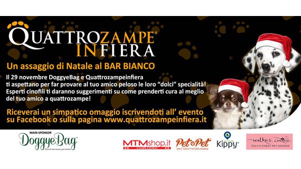 Evento QuattroZampeInFiera Bar Bianco