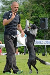 Adrian e Rory i campioni di Disc Dog
