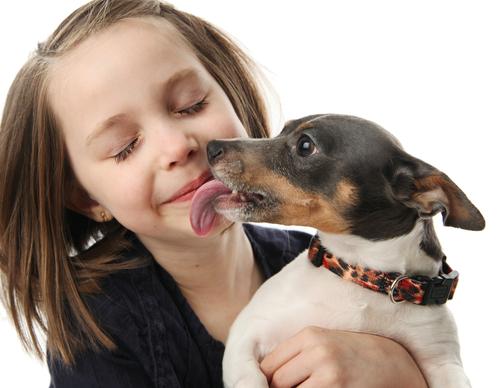 Farsi leccare dal cane