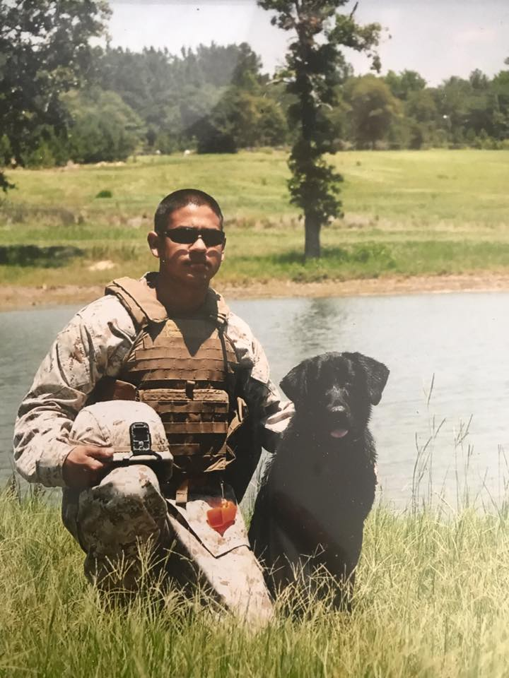 cane e soldato