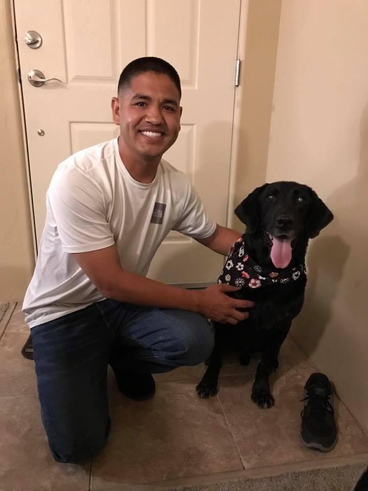 veterano e cane