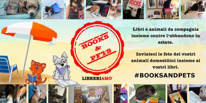 books and pets abbandono
