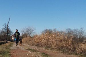 jogging con il cane