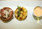 Ricetta filetto rosa di Parma con salsa al tartufo nero