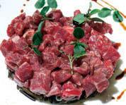 Ricetta tartare di manzo con riso nero canadese e aceto balsamico di Modena