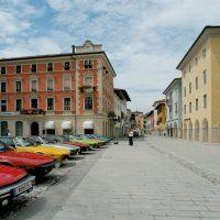 Raduno di macchine d'epoca a San Daniele