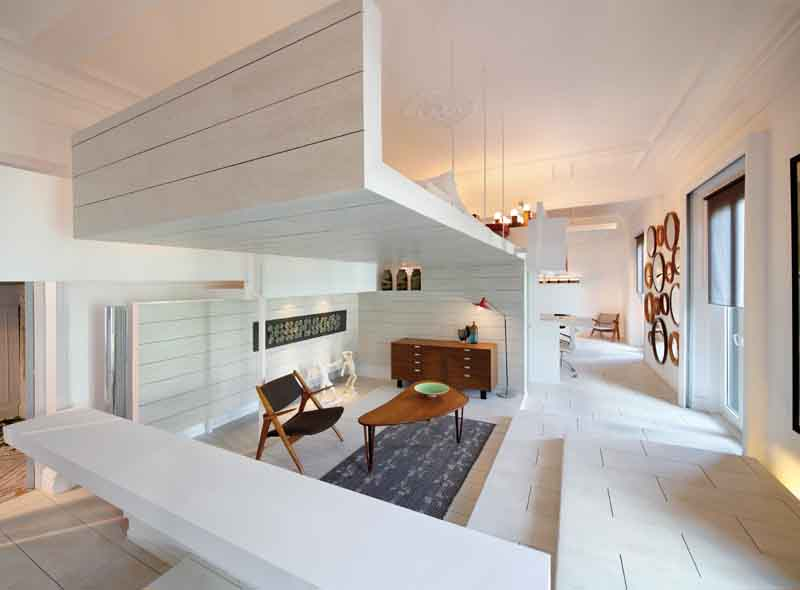 La casa della ceramica for Case arredate da architetti