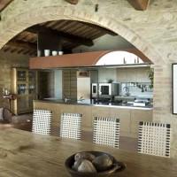 Il restauro dell'architetto Pietro Del Vaglio ad Asciano