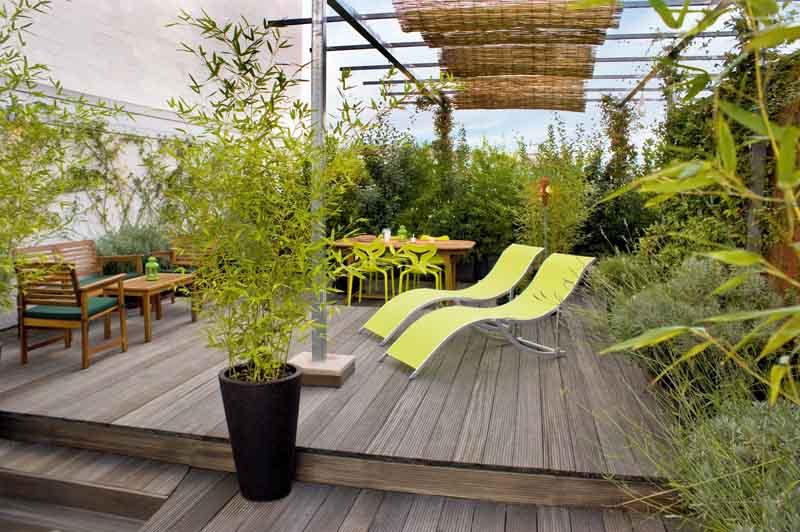 Progetto di spazio verde a Torino