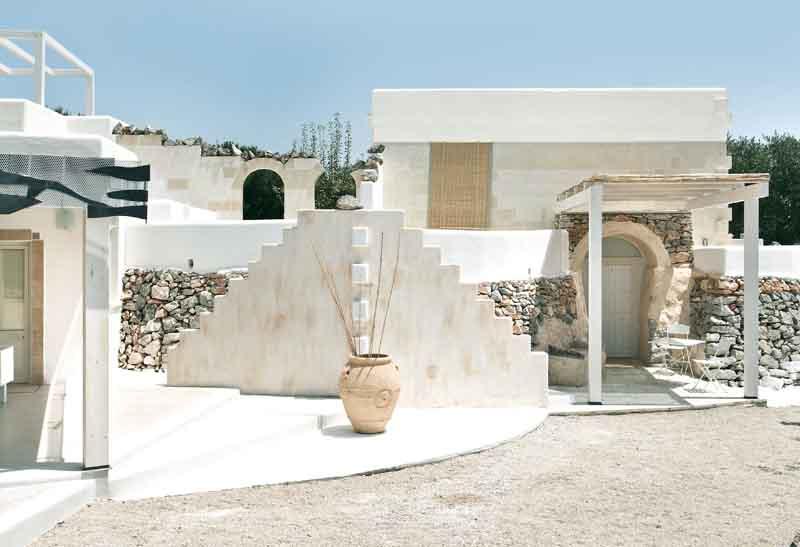 Pietra e tufo in una villa pugliese - Ristrutturare casa in pietra ...