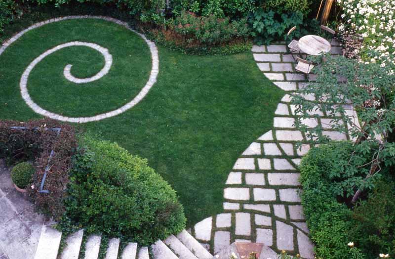 Giardino art craft ville casali - Progetto giardino privato ...