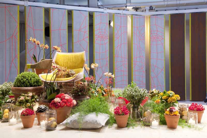 L'installazione di Patricia Urquiola, per Kvadrat e Moroso, vincitrice del Milano Design Award 2013