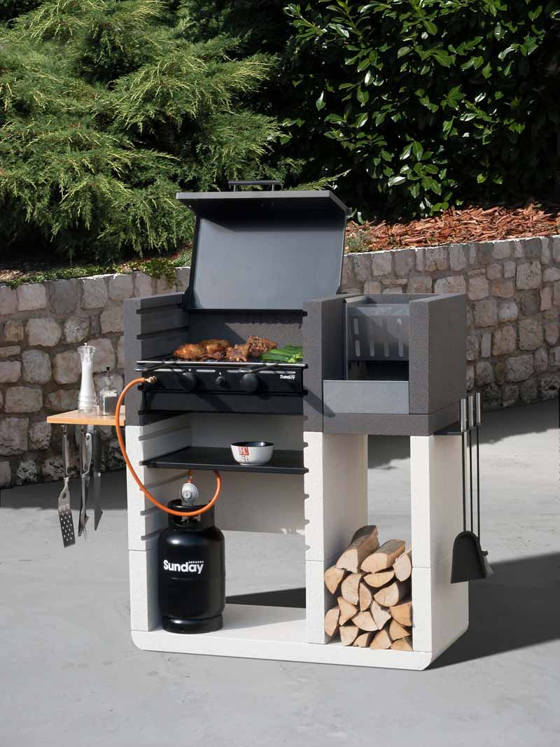 I nuovi barbecue ville casali for Barbecue sunday