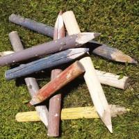 Piccole matite colorate