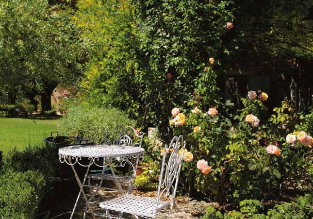 Giardino del tempo sospeso in provenza ville casali - Giardino con rose ...