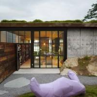 Un altro dettaglio dell'esterno di The Pierre, dell'architetto Tom Kundig