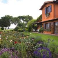 Il giardino di Erny Massini a Roma