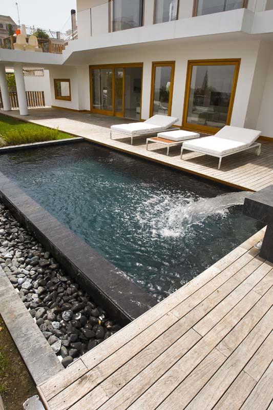 Legno pietra e acqua a posillipo ville casali - Quale legno per esterni ...