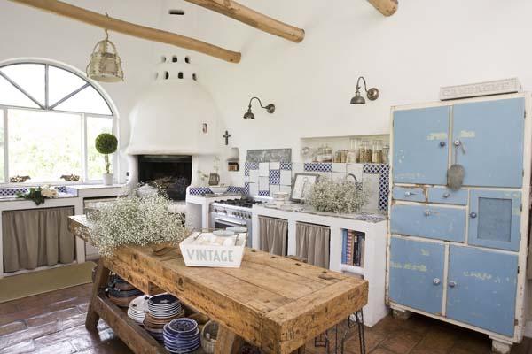 Armonia nella casa della piuma lunga ville casali - Cucine di campagna ...