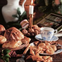 Scorcio di una tavola natalizia danese