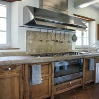 La cucina della dimora umbra