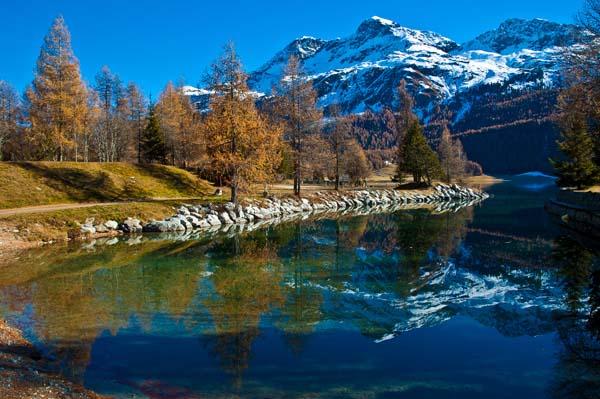 Un panorama dell'Engadina - Massimo De Candido/Shutterstock