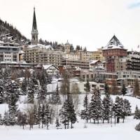 Veduta invernale di St Moritz - Fulcanelli