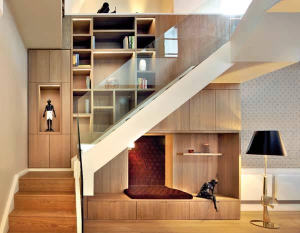 Uno spazio senza confini a londra ville casali for Arredare scale