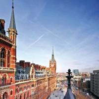La vista dal loft londinese