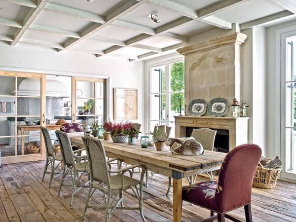 Grandeur country a segovia ville casali for Una storia piani di casa di campagna francese