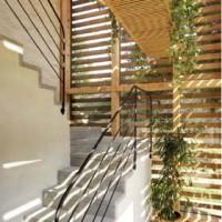 Lamelle frangisole in legno di abete