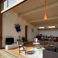 Architettura eclettica di un casale umbro