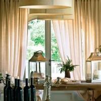 La sala da pranzo, riservata ai soli ospiti del wine resort