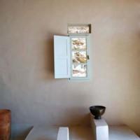 Nella casa alle Cicladi regna un'atmosfera di comfort e relax