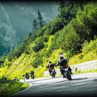 In moto in Val di Sole