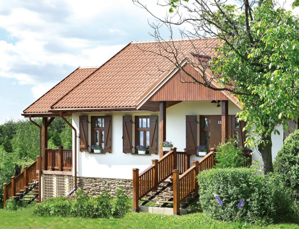 Il cottage visto dall'esterno