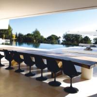 Spazi avveniristici in una residenza a Marbella
