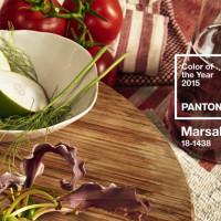 Marsala: è questo il colore del 2015 secondo Pantone