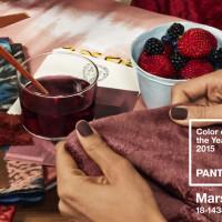 Marsala: colore dell'anno 2015 secondo Pantone