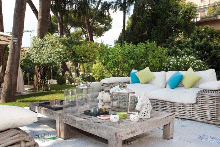 Una villa magica nel cuore di roma ville casali for Arredare una villa