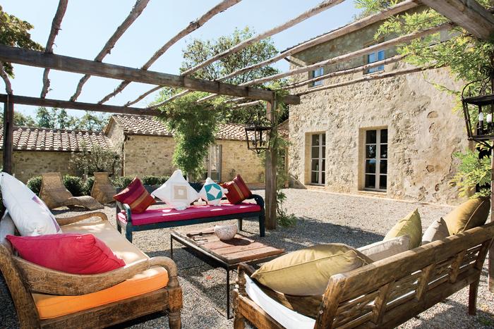 Cortesie per gli ospiti a san casciano dei bagni ville - Costruire casa in campagna ...