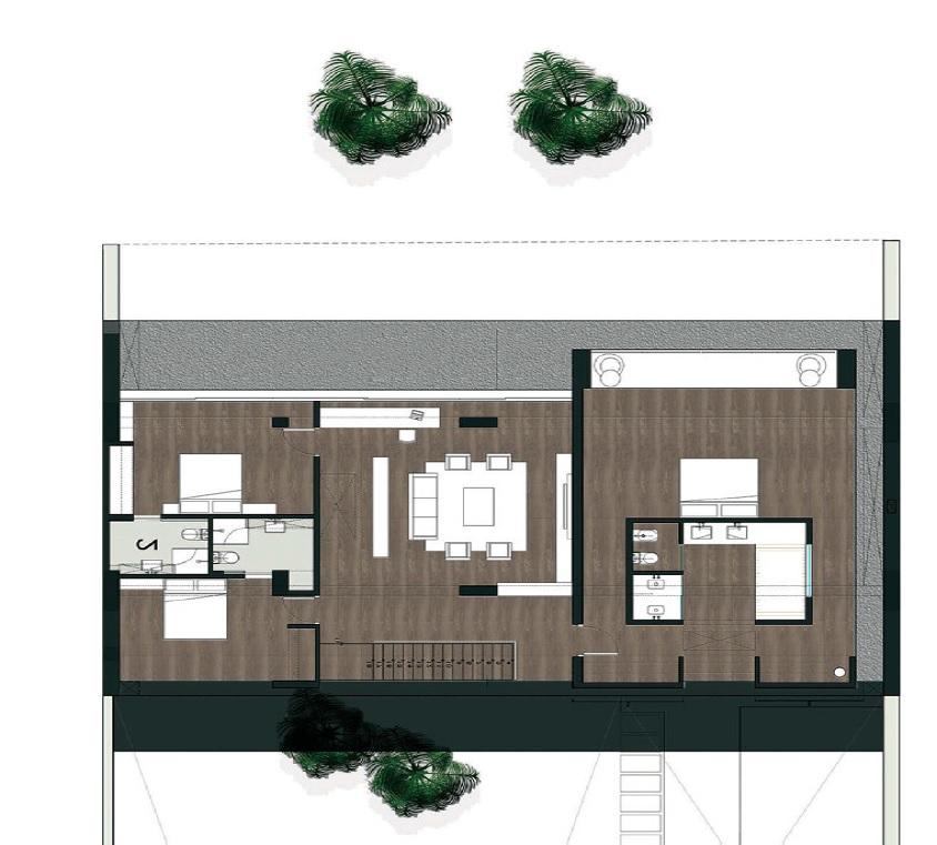 Una cucina a due piani in fienile ristrutturato ville casali for Case vecchie ristrutturate