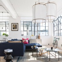 Un loft di Londra, decorato di luce e spazi