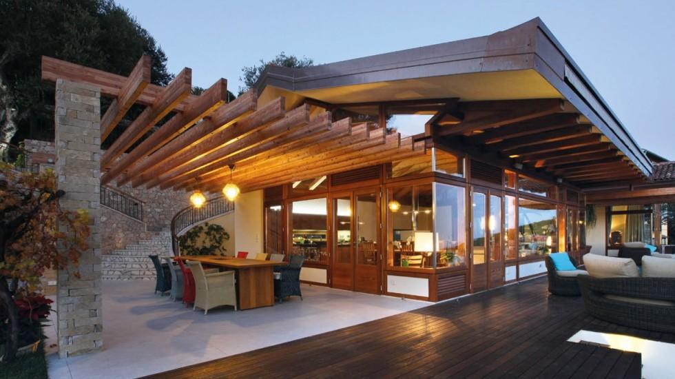 Stile nipponico per una villa a Montecarlo