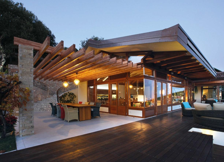 Stile nipponico per una villa a montecarlo ville casali for Case di stile