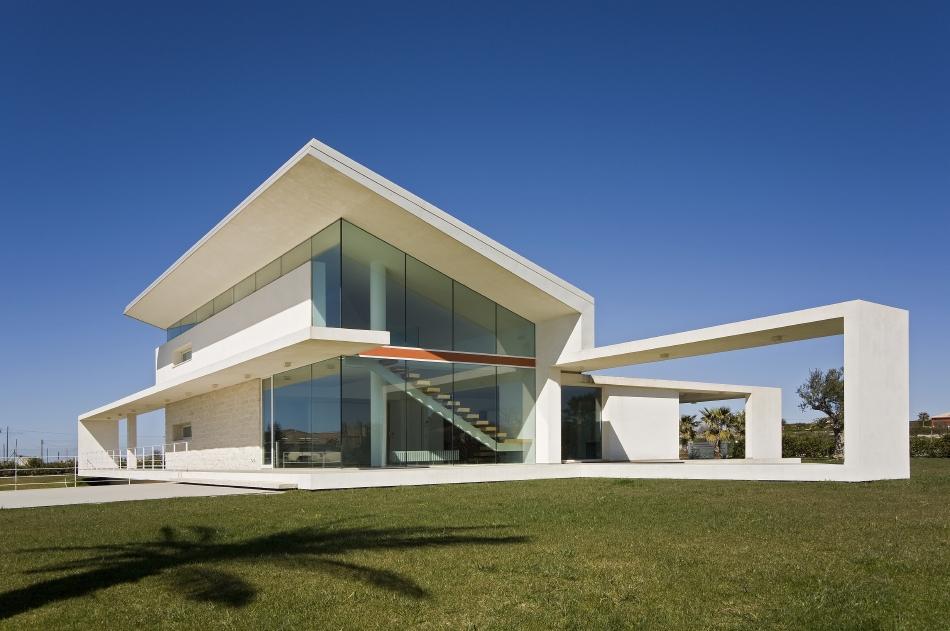 Il Moderno Che Convive Con Il Territorio La Villa T
