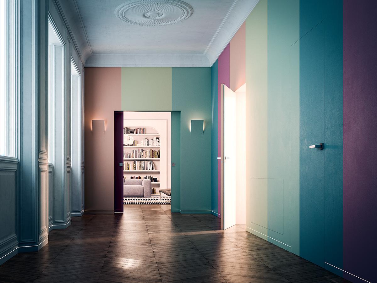 Top La collezione di pareti Syntesis | Ville&Casali JJ47