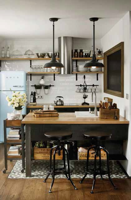 Soggiorni Stile Industriale ~ Idee per il design della casa
