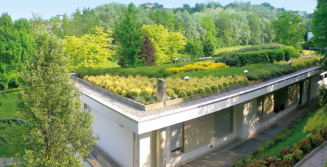 Verde sul tetto il ritorno dei giardini pensili ville - Foto case con giardino ...